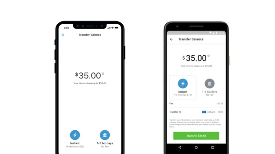 Venmo borrows popular PayPal feature to expand on its Instant Transfer capabilities
