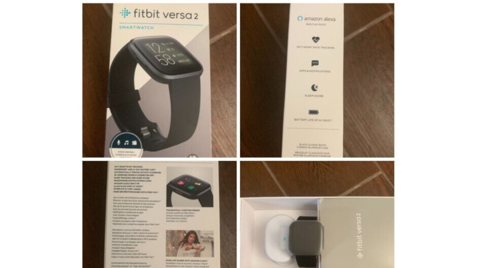 New Fitbit Versa 2 leak suggests 4-day battery life, Amazon Alexa support