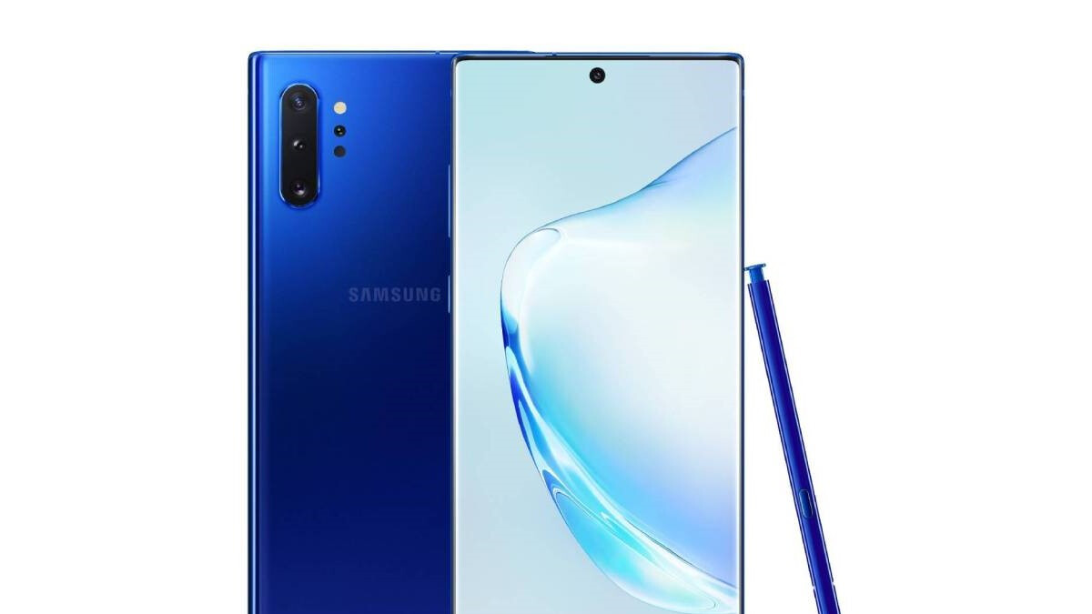 Samsung's Aura Blue Galaxy Note 10+ is reportedly coming to Europe