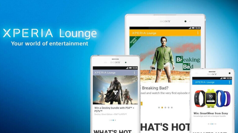 Sony to kill off Xperia Lounge app by the end of August