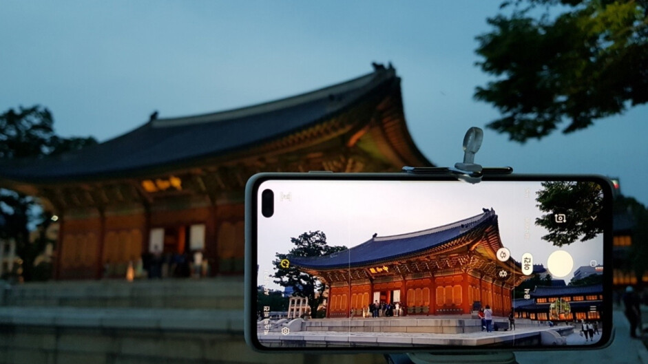 T-Mobile's Galaxy S10 finally gets Samsung's manual Night Mode camera update