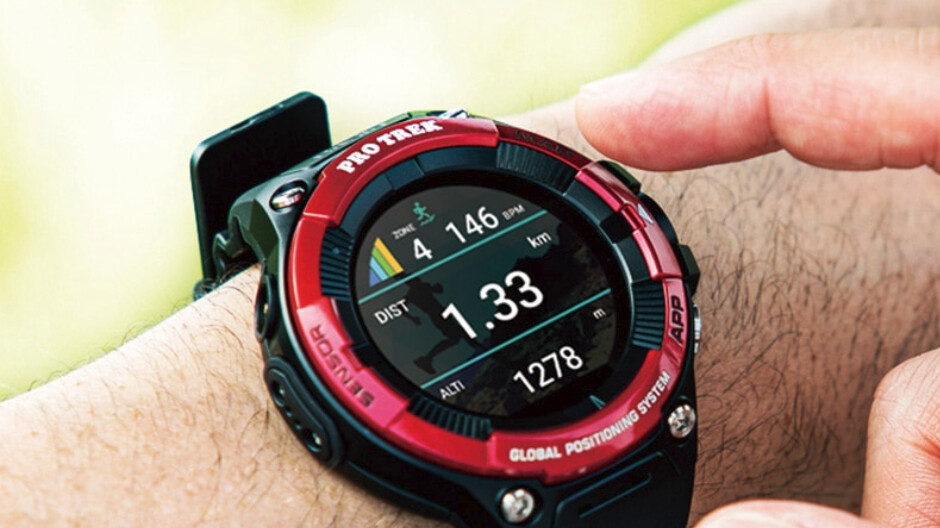 Casio debuts Pro Trek WSD-F21HR rugged smartwatch with heart rate monitor