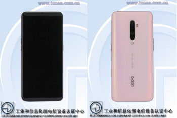 Specs and images of the Oppo Reno 2 are found in China