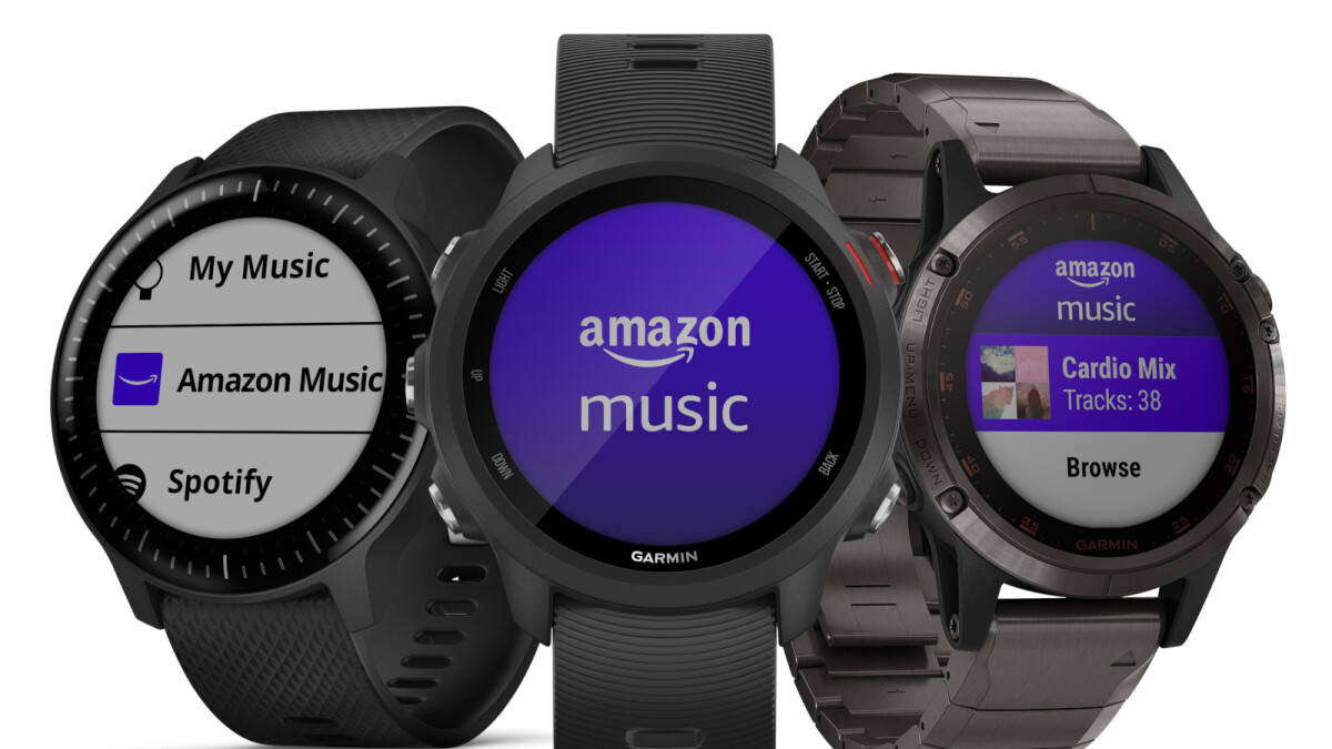 First Amazon Music app for wearables now available on select Garmin smartwatches