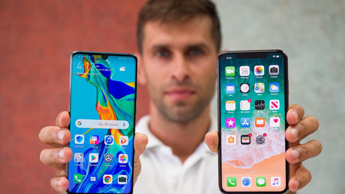 Apple iPhone XS Max vs Huawei P30 Pro