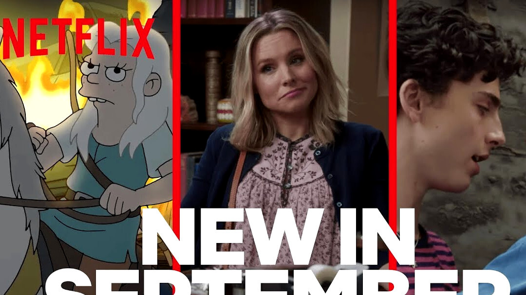 All new Netflix and HBO September 2019 releases - movies, TV