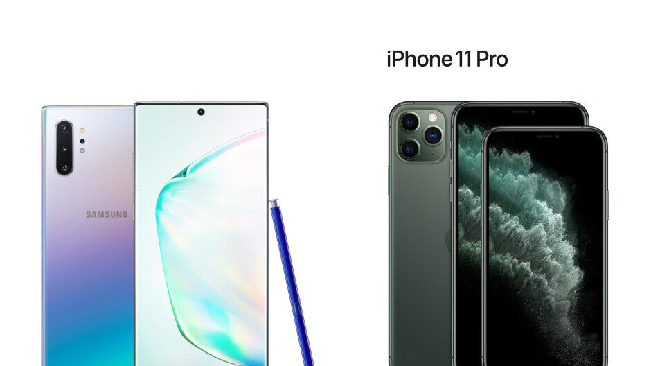 Note 10+ vs iPhone 11 Pro Max specs and features comparison