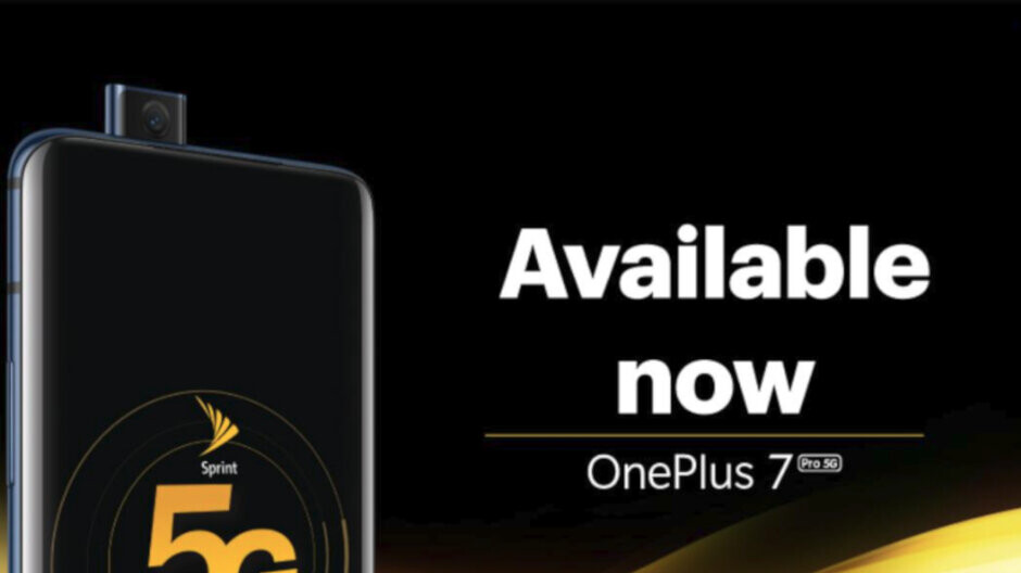Sprint launches the OnePlus 7 Pro 5G, brings 5G service to four new markets