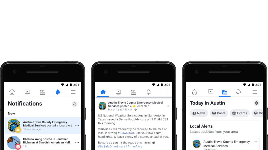 Facebook expands local alerts across the United States