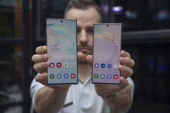 Did you get the decked-out Note 10+ or the compact Note 10?
