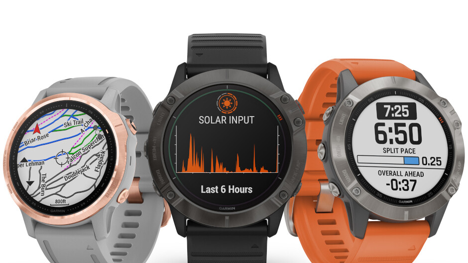Garmin fenix 6: Iconic Sports Watch Now Solar-Powered
