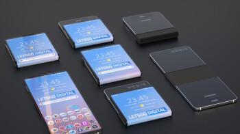 Samsung's working on a Motorola Razr-like foldable phone
