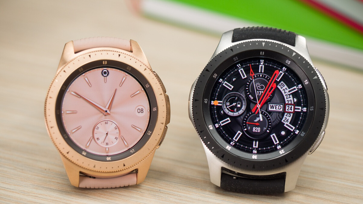 The beautiful Samsung Galaxy Watch is on sale at its lowest