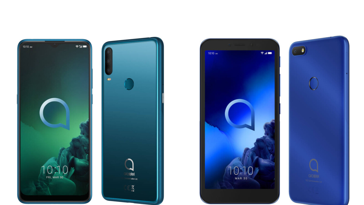 TCL presents two new budget smartphones: the Alcatel 3X and the Alcatel 1V