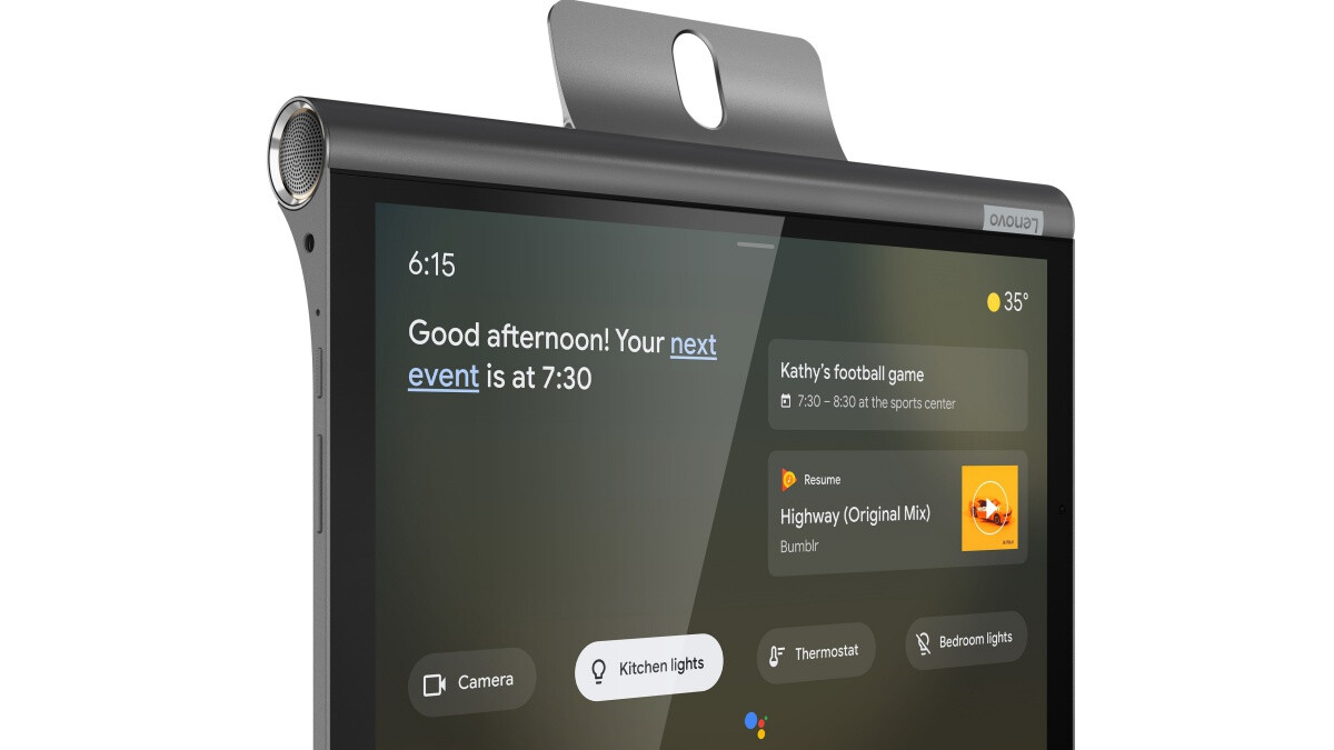 Amid increasing competition, Lenovo returns with a smaller Smart Display
