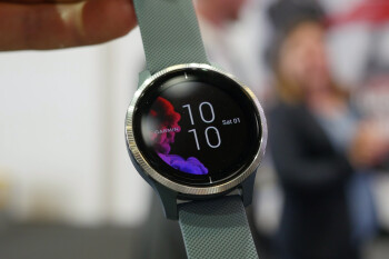 Garmin Venu: AMOLED screen plus Always-On mode and battery life measured in days (hands-on)