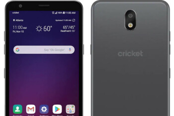 Cricket's new entry-level phone has a 3.5mm jack unlike more expensive models