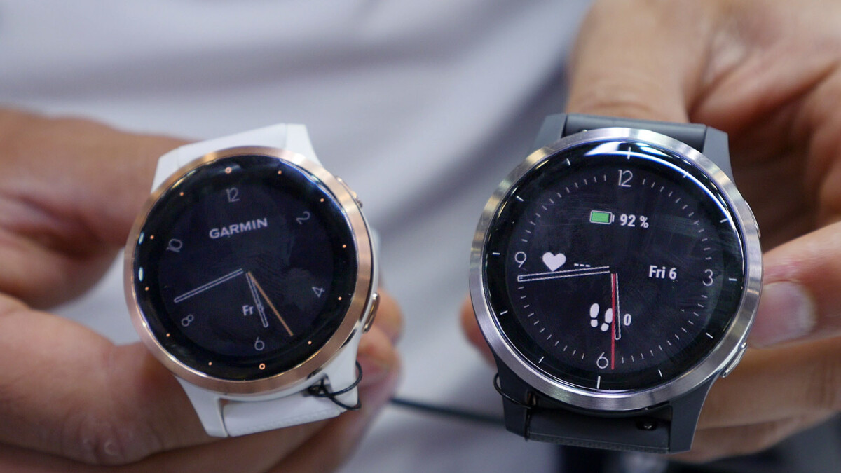 Garmin Vivoactive 4 and 4s: stainless steel bezel and added