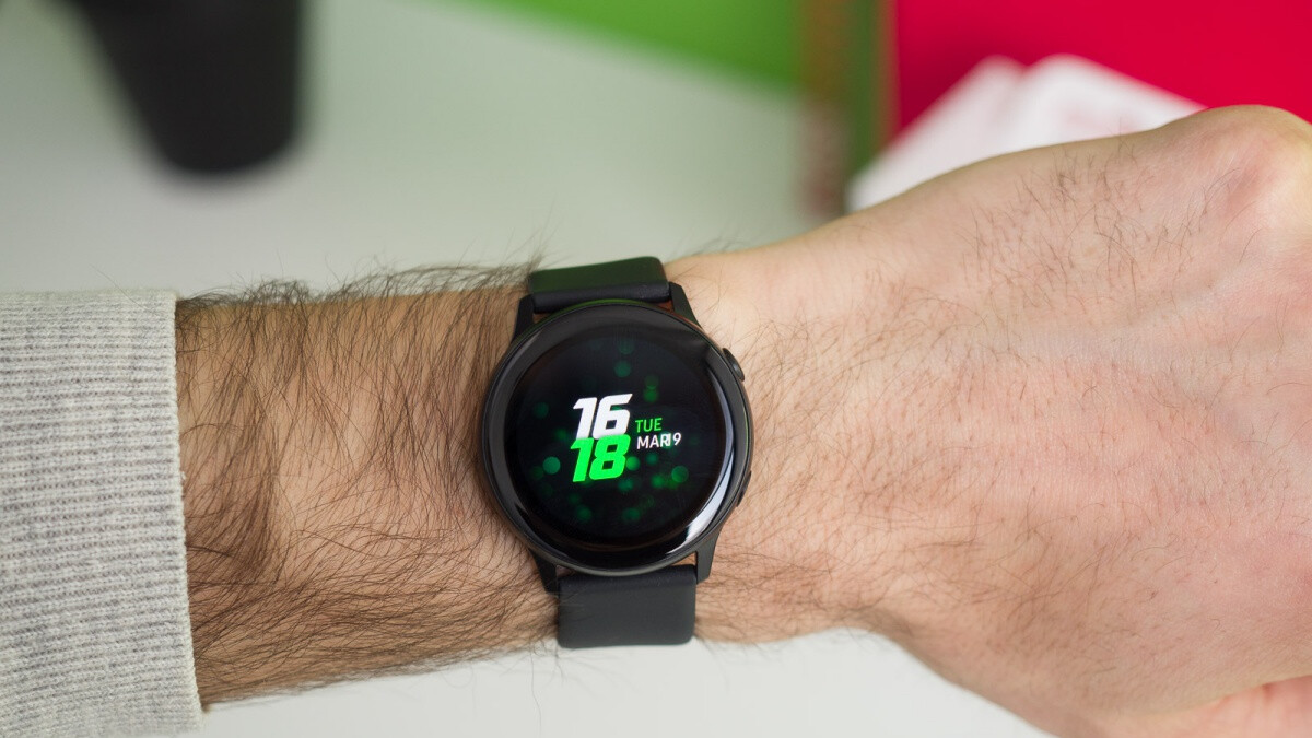 Samsung's first-gen Galaxy Watch Active is on sale at a cool