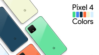 New Pixel 4 color options based on Android 10's refreshed palette envisioned in concept renders