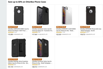 Amazon is running a massive sale on popular OtterBox cases for iPhones and Galaxy devices