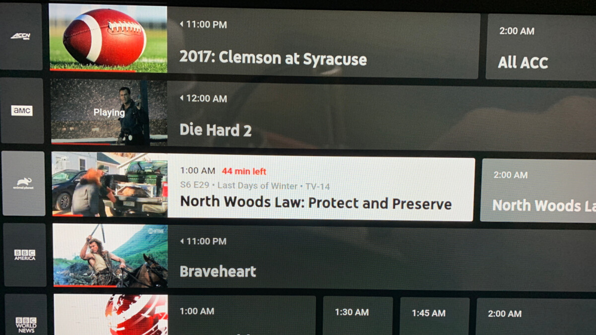 YouTube TV update adds new UI for the guide and autoplay