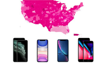 Because of T-Mobile and Verizon, the iPhone 11 supports an LTE band record