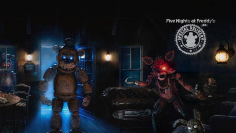 Five Nights at Freddys AR Special Delivery brings the horror to iOS and Android devices