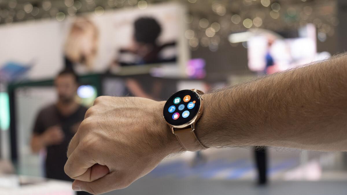 Samsung Galaxy Watch Active 2: Hands-on | PhoneArena ...