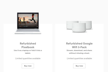 Google quietly starts selling certified refurbished devices