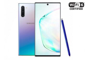 Samsung Galaxy Note 10 phones first to be certified for Wi-Fi 6