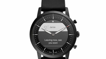 Is this the first hybrid Wear OS smartwatch to use the $40 million technology purchased by Google?