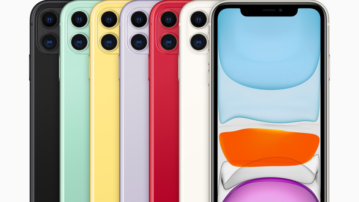 The iPhone 11 is more popular than the Pro and Pro Max, but not by a lot