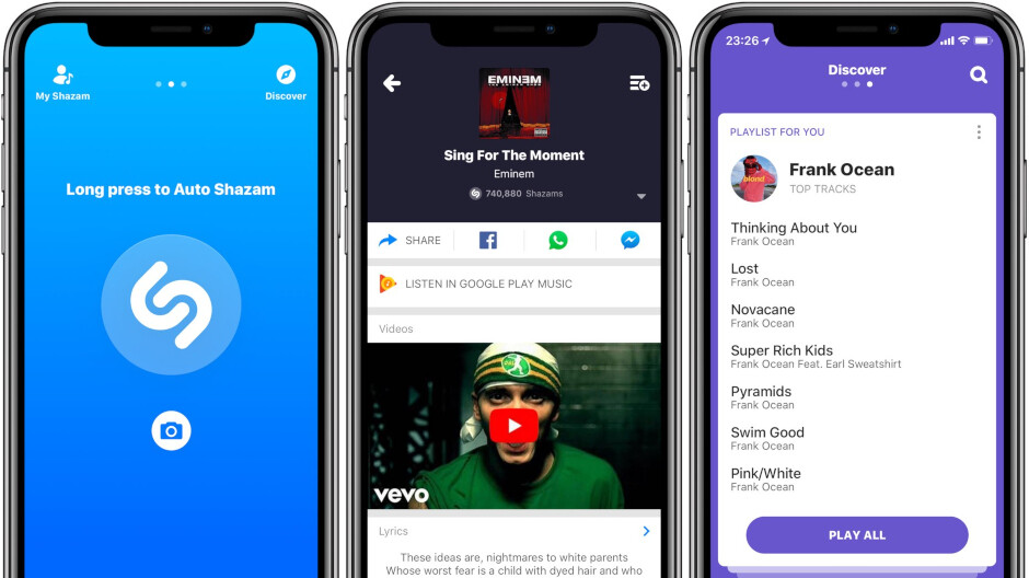 Shazam update adds Dark Mode support, new multi-touch gesture for iOS 13