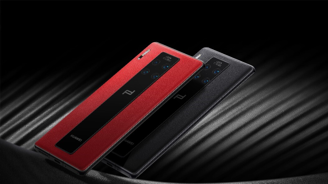 Porsche Design Huawei Mate 30 RS is here with its leathery back and astronomical price tag