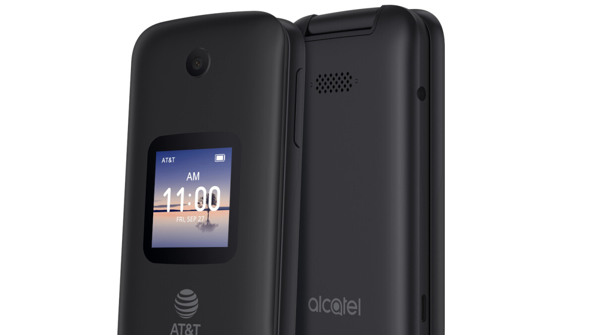 Alcatel is bringing a 4G flip phone with Google Assistant to the US