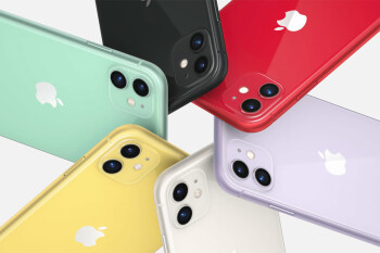 iPhone 11 All New Colors Closer Look: green, purple, red, yellow, white and black
