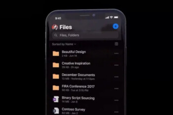 Microsoft brings dark mode to OneDrive on iOS, other Office apps to follow