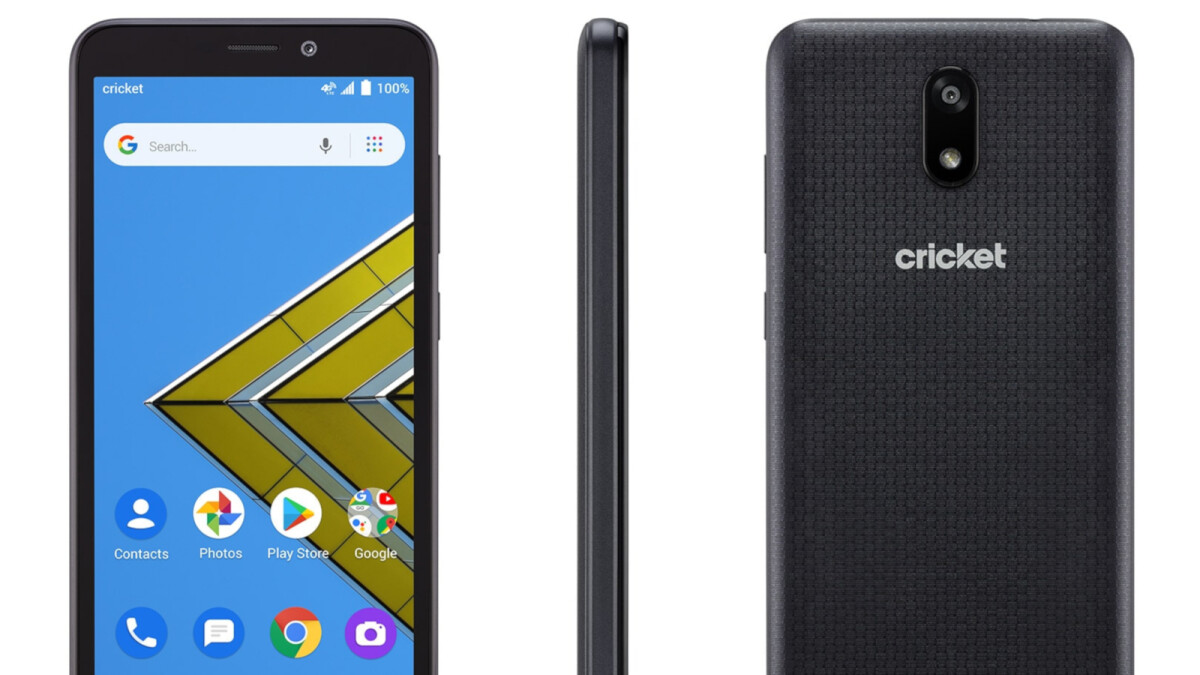 Cricket launches its own smartphone brand, first device costs less than $100