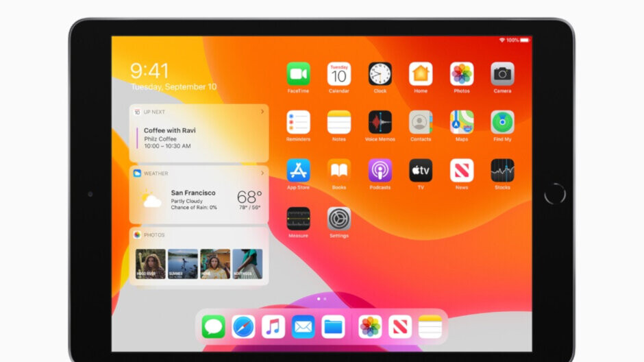 The seventh-generation Apple iPad and its larger 10.2-inch screen starts shipping tomorrow