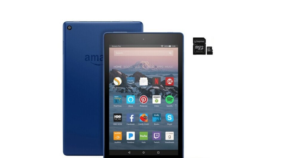 Amazon's Fire HD 8 tablet is cheaper than ever before, no Prime subscription needed