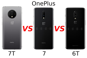 OnePlus 7T vs OnePlus 7 vs OnePlus 6T: All the major differences