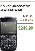 Unlocked Nokia E72 priced at $250 - no contract required