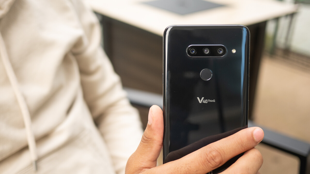 Verizon updates the LG V40 ThinQ with screen recording and secure power-off
