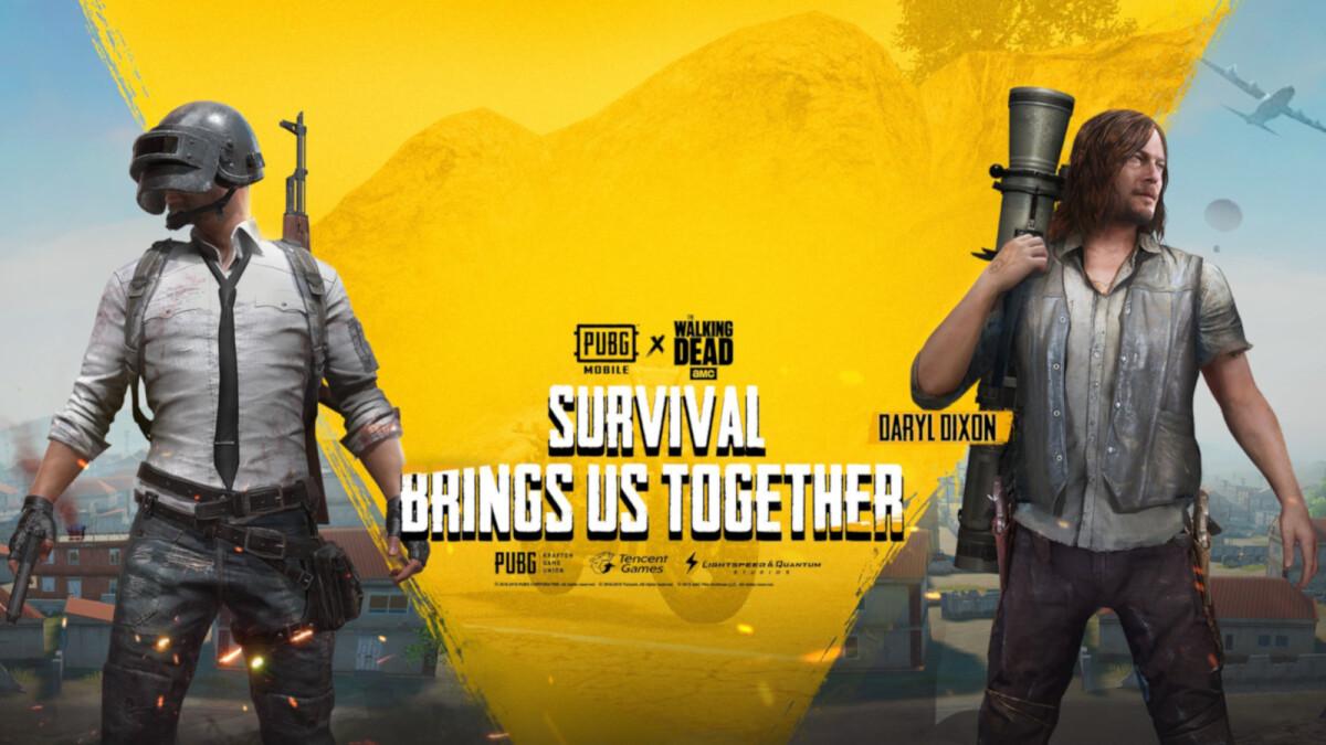 PUBG Mobile developer reveals The Walking Dead crossover