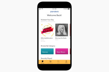Pandora launches its redesigned new mobile app for iOS and Android