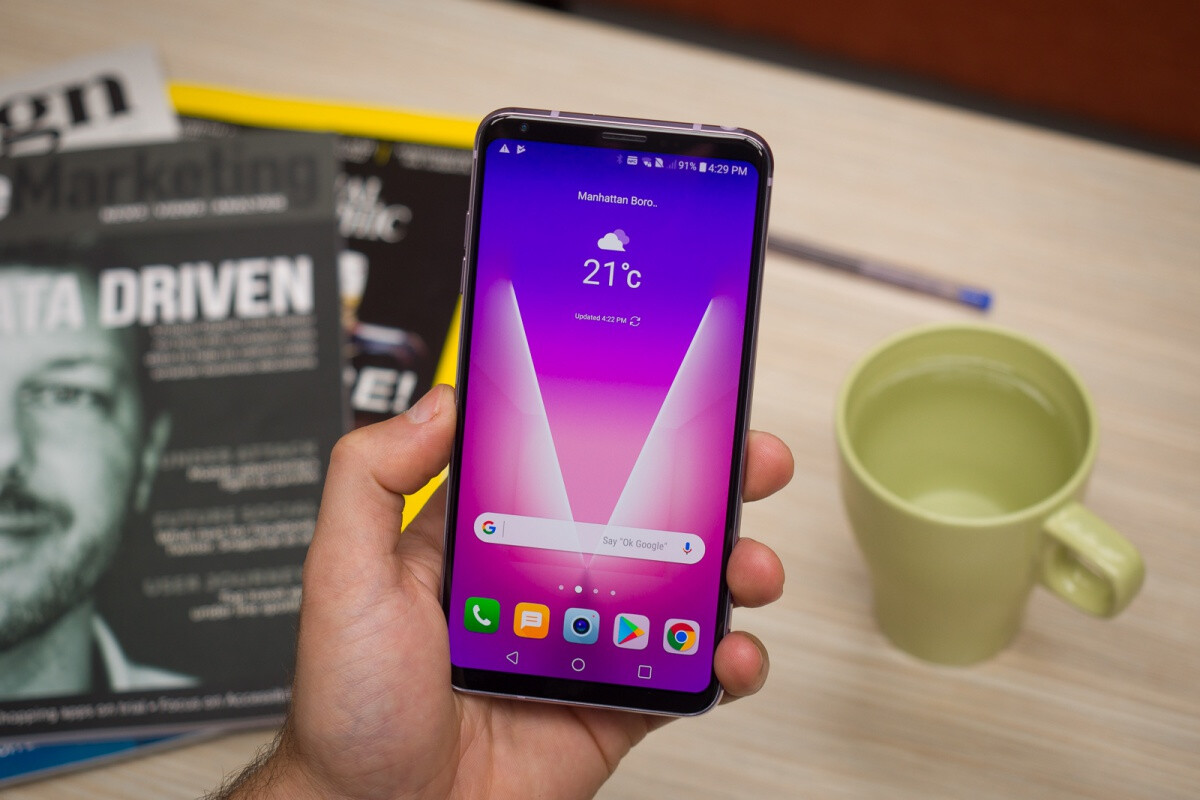 LG V30 receives official Android 9.0 Pie update on its ...