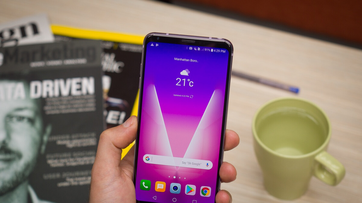 LG V30 receives official Android 9.0 Pie update on its second big US carrier