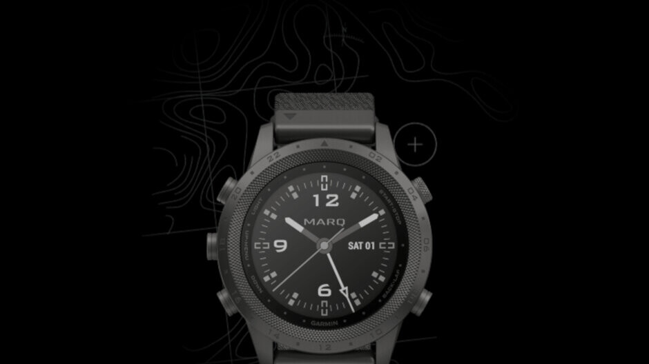 Garmin's latest MARQ Commander smartwatch includes Stealth Mode and Kill Switch