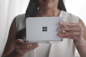 The Surface Duo is Microsoft's Android-powered dual-screen phone